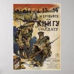 Un libro a un ~ Rusia/Unión Soviética WWI 1916 del Impresiones