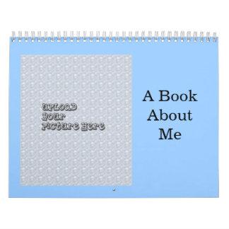 Un libro acerca de mí regalo del Preschooler de la Calendario De Pared