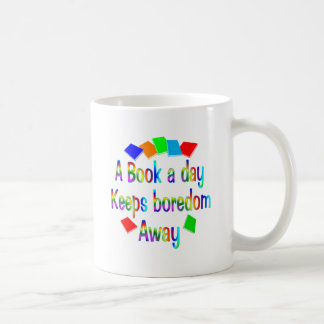 Un libro al día taza de café