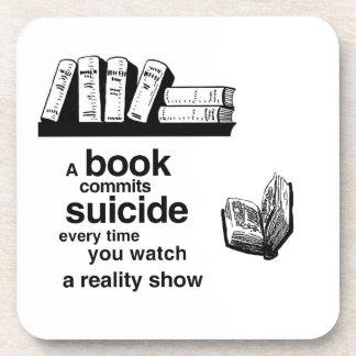 Un libro confía suicidio cuando usted mira la real posavaso