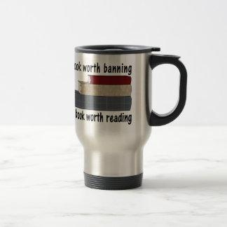 Un libro digno de… I el quemar un libro digno de Taza De Viaje