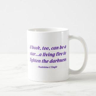 Un libro, también, puede ser una estrella tazas de café