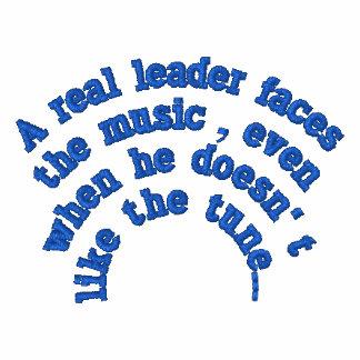 Un líder real… sudadera con serigrafía
