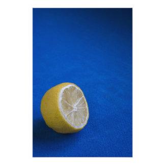 Un limón mediterráneo cojinete
