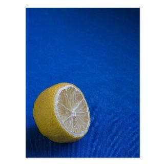 Un limón mediterráneo tarjetas postales