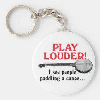 Un llavero más ruidoso del juego