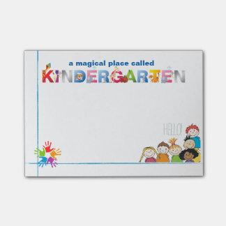 Un lugar mágico llamó a Kindergarten Nota Post-it®