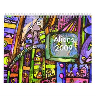 Un lugar para aliens2, Aliens2009 - modificado par Calendarios