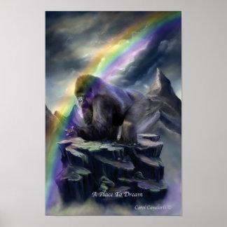 Un lugar para soñar el poster/la impresión del art póster