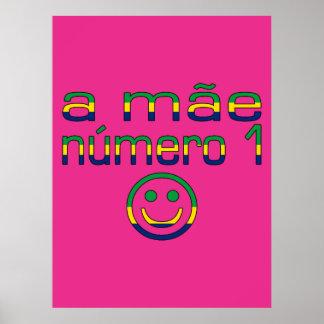 Un Mãe Número 1 - mamá del número 1 en brasilen o Impresiones