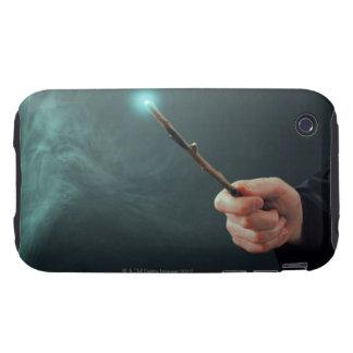 Un mago de la fantasía que hace magia con la vara tough iPhone 3 coberturas