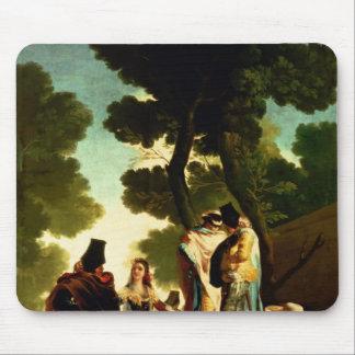 Un Maja y un Gallants, 1777 Alfombrilla De Ratón