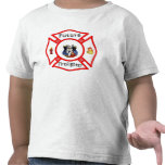 Un maltés rojo del bombero futuro camiseta
