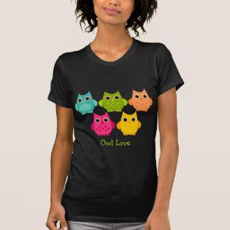 Un manojo brillante de búhos camisetas