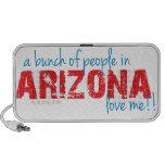 ¡Un manojo de gente en Arizona me ama!! PC Altavoces