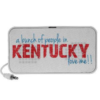 ¡Un manojo de gente en Kentucky me ama!! Portátil Altavoces