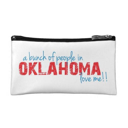 ¡Un manojo de gente en Oklahoma me ama!!