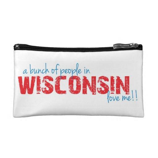 ¡Un manojo de gente en Wisconsin me ama!!