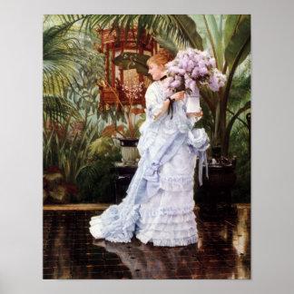 Un manojo de lilas póster