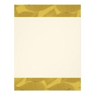 Un manojo de papel con membrete de las hojas plantillas de membrete