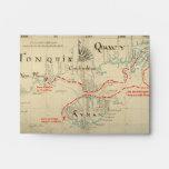 Un mapa auténtico de 1690 piratas (con adornos)