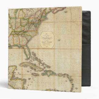 """Un mapa correcto de los Estados Unidos Carpeta 1 1/2"""""""