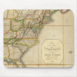 Un mapa correcto de los Estados Unidos Tapete De Raton