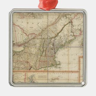 Un mapa de Cabotia Adornos