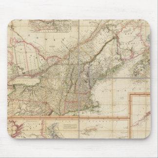 Un mapa de Cabotia Alfombrilla De Raton