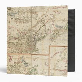"""Un mapa de Cabotia Carpeta 1 1/2"""""""