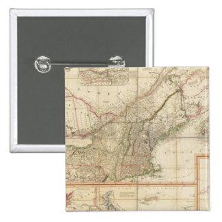 Un mapa de Cabotia Pin Cuadrado