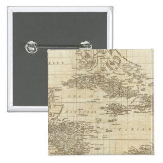 Un mapa de índice pin cuadrada 5 cm