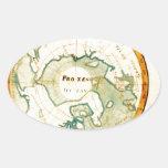 Un mapa de los países sitúa sobre el político del pegatinas oval personalizadas