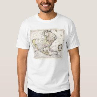 Un mapa de Norteamérica Polera