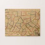 Un mapa del estado de Pennsylvania