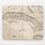 Un mapa del Imperio británico en la hoja 14 de Amé Alfombrilla De Ratón