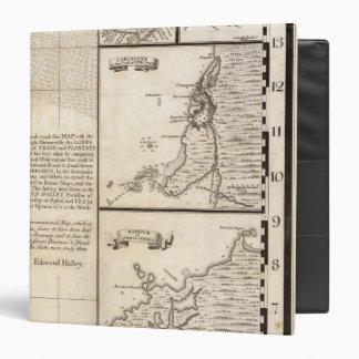 """Un mapa del Imperio británico en la hoja 20 de Carpeta 1 1/2"""""""
