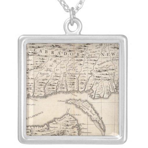 Un mapa del Imperio británico en la hoja 3 de Amér Colgante Cuadrado