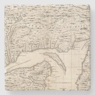 Un mapa del Imperio británico en la hoja 3 de Amér Posavasos De Piedra
