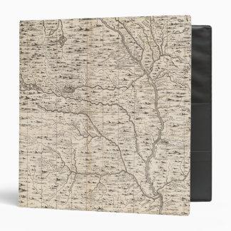 """Un mapa del Imperio británico en la hoja 5 de Amér Carpeta 1 1/2"""""""