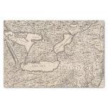 Un mapa del Imperio británico en la hoja 6 de Papel De Seda Pequeño