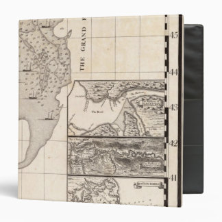 """Un mapa del Imperio británico en la hoja 8 de Amér Carpeta 1 1/2"""""""