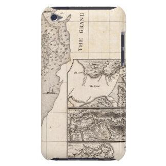 Un mapa del Imperio británico en la hoja 8 de Amér iPod Touch Case-Mate Cárcasas