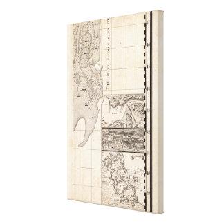 Un mapa del Imperio británico en la hoja 8 de Amér Lona Envuelta Para Galerias