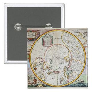 Un mapa del Polo Norte Pin