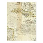 Un mapa exacto de la sección del sur de postal