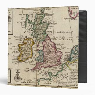 """Un mapa general de Gran Bretaña y de Irlanda Carpeta 1 1/2"""""""