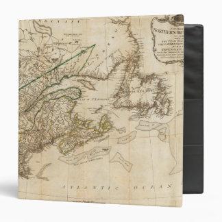 Un mapa general de las colonias británicas septent