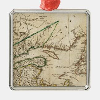 Un mapa general de las colonias británicas septent adorno