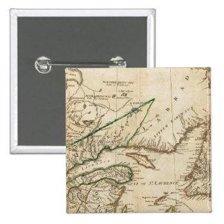 Un mapa general de las colonias británicas septent pins